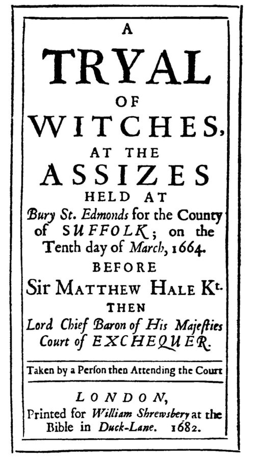 Bury_Witch_Trial_report_1664