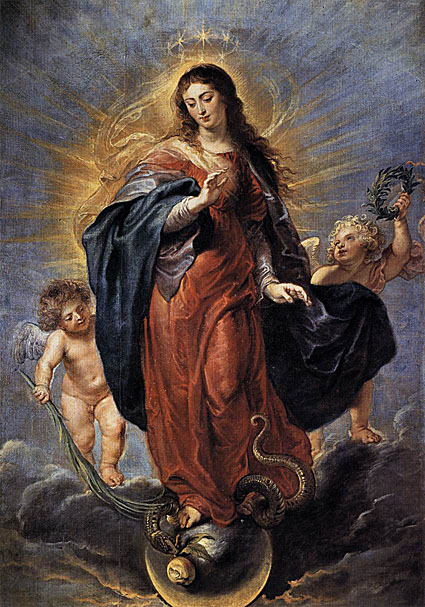 Mary Crushes the Serpent